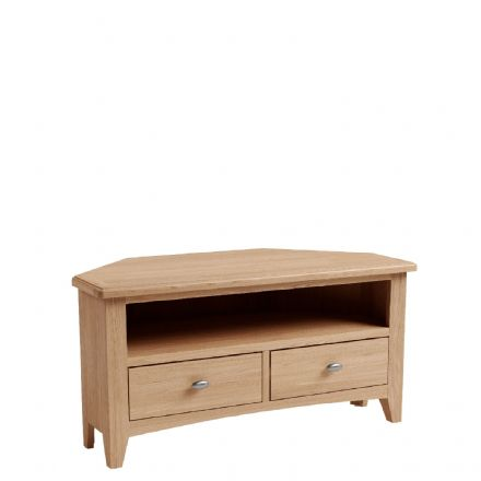 Geo Oak Corner TV Unit